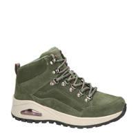 Skechers Rugged One  nubuck wandelschoenen groen, groen multi
