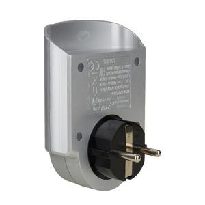 beveiligingsadapter overspanning (zilver)