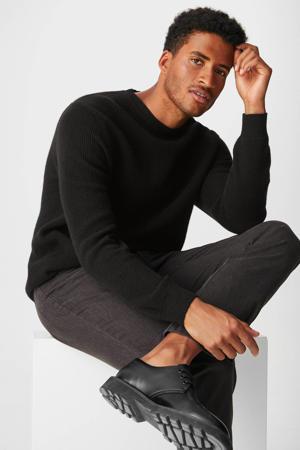 trui met wol zwart