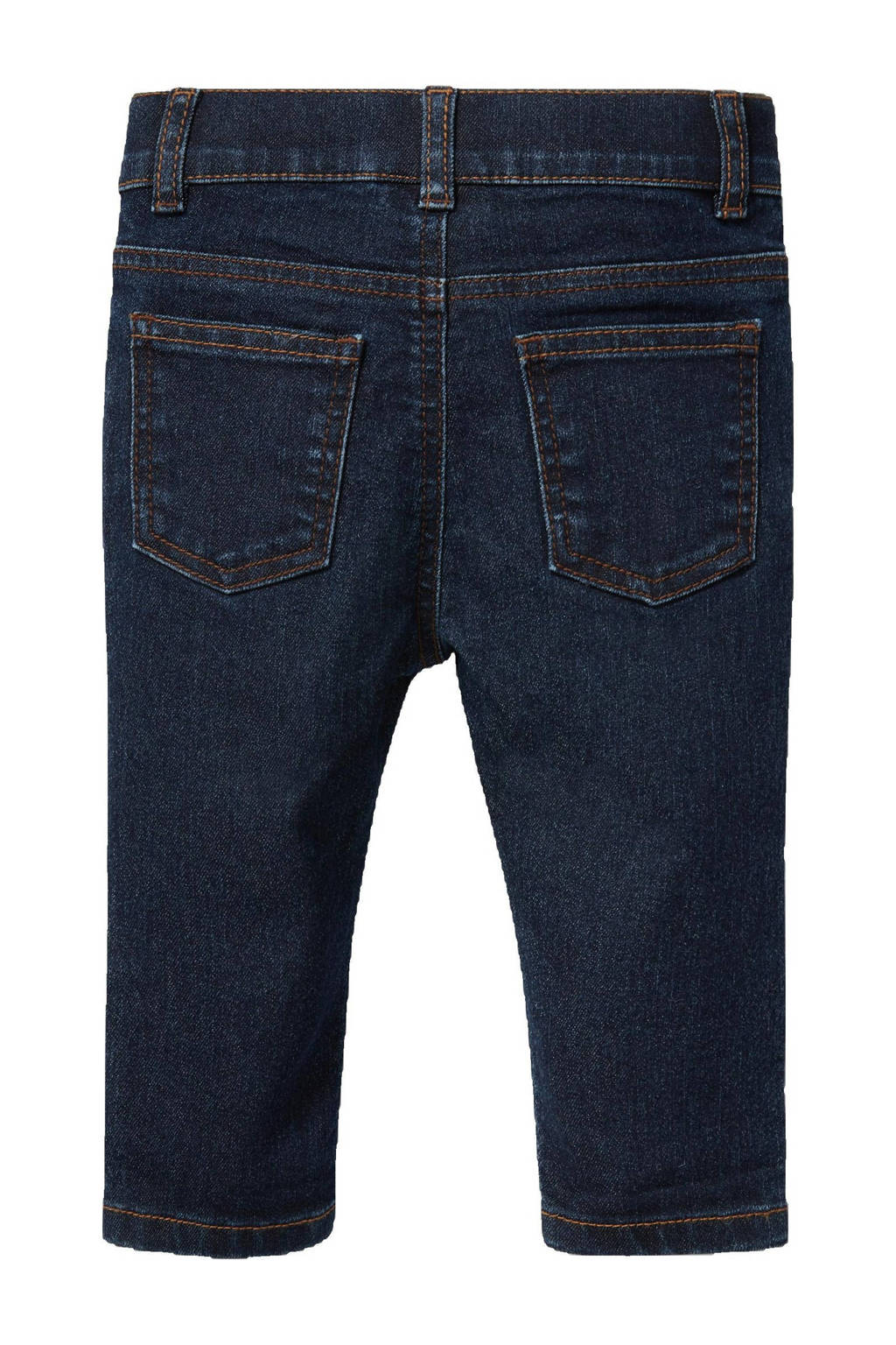 C&A Baby Club baby slim fit jeans donkerblauw, Donkerblauw