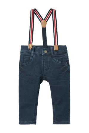 baby regular fit jeans donkerblauw