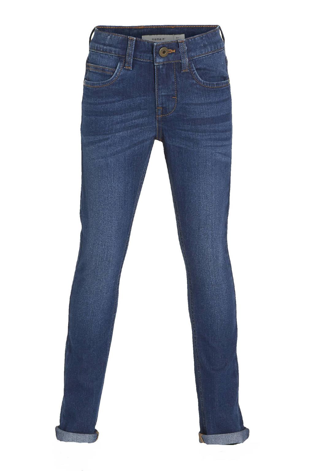 NAME IT KIDS skinny jeans NKMPETE dark denim, Dark denim