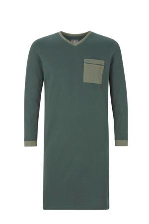 Plus Size slaapshirt Asmund groen