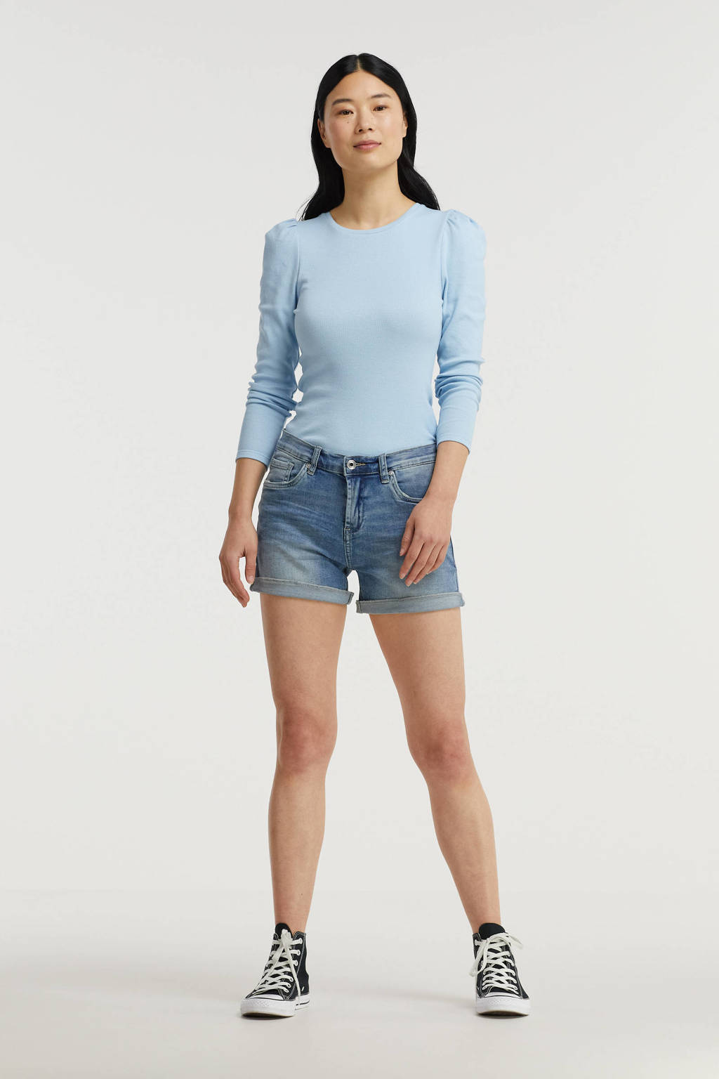 Circle of Trust jeans short April blue weather, Blue weather
