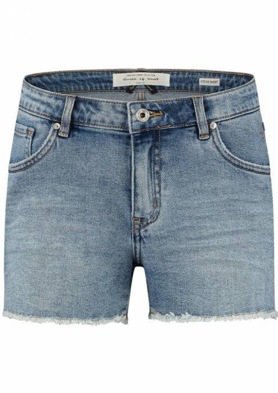 Circle of Trust jeans short Stevie light blue denim, Light blue denim
