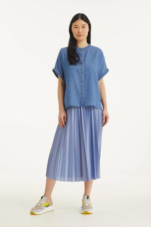 blouse Jones blue denim