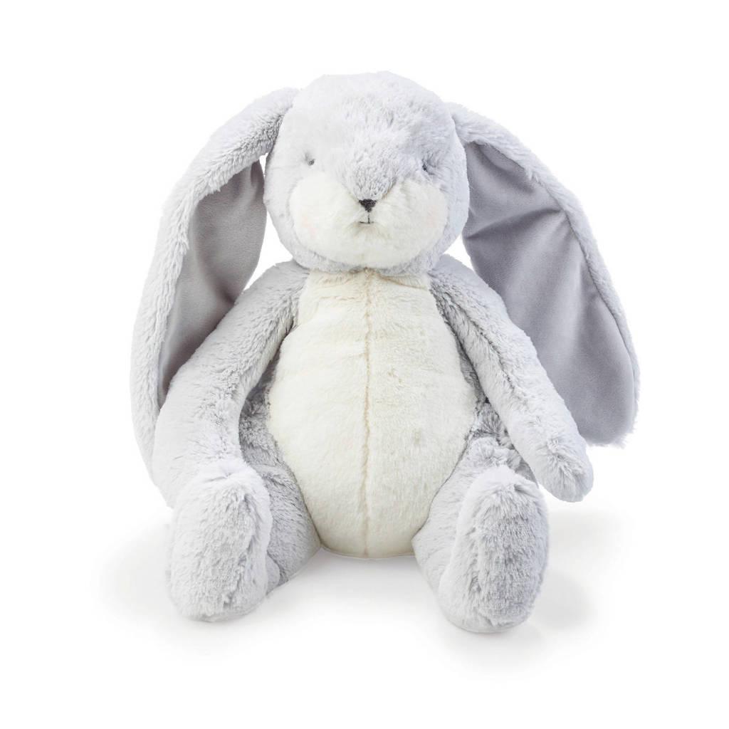Bunnies By The Bay Konijn groot grijs knuffel 40 cm, Grijs