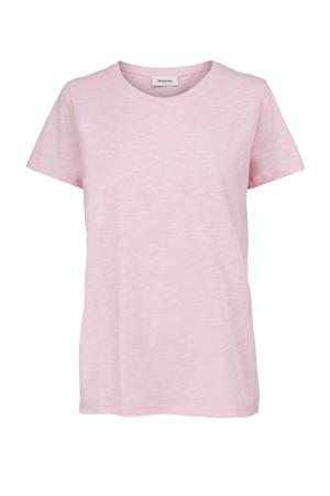 gemêleerd T-shirt Bridget lichtroze