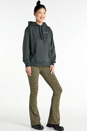 hoodie Ivy Gold met printopdruk zwart