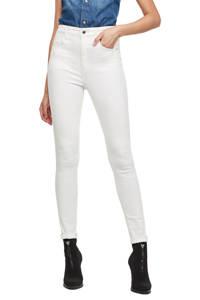 G-Star RAW high waist skinny jeans Kafey wit, Wit