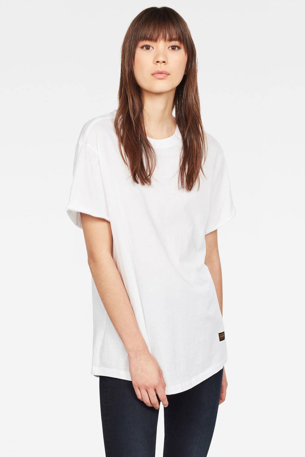 G-Star RAW T-shirt wit, Wit