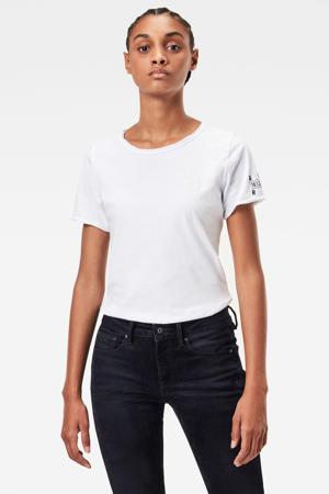 T-shirt Mysid van biologisch katoen wit