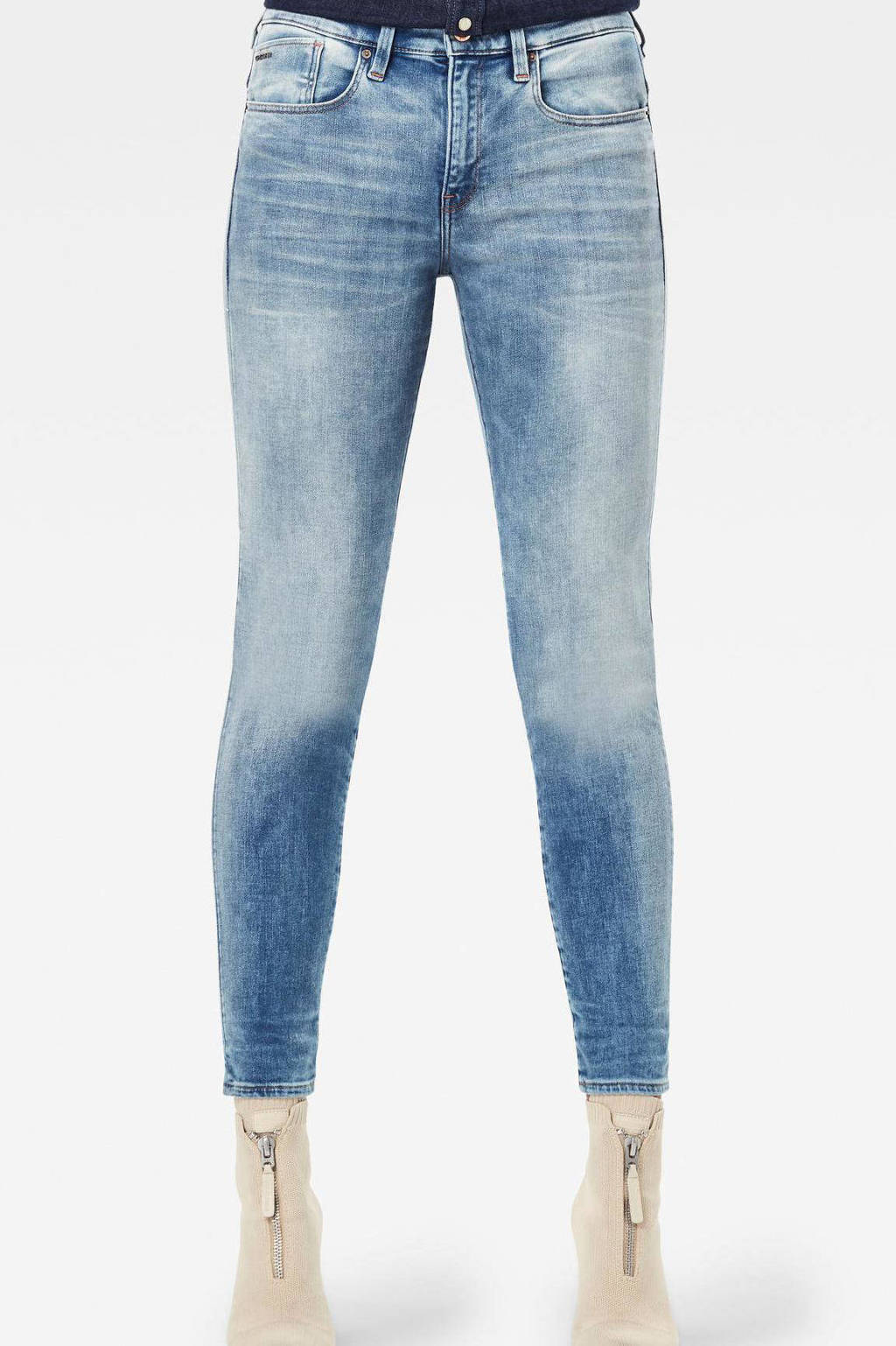 G-Star RAW skinny jeans vintage beryl blue, Vintage beryl blue