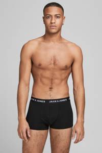 JACK & JONES boxershort Solid (set van 10), Zwart