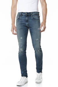 REPLAY slim fit jeans Anbass mid blue, Mid blue