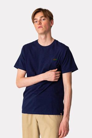 T-shirt TUR  van biologisch katoen donkerblauw