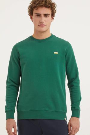 sweater van biologisch katoen groen