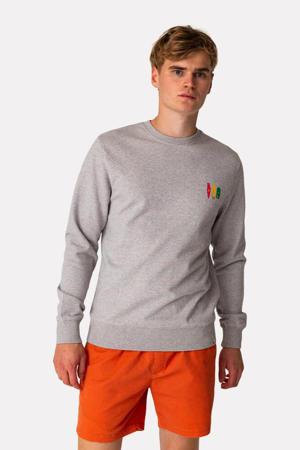 sweater 2667 van biologisch katoen grijs melange