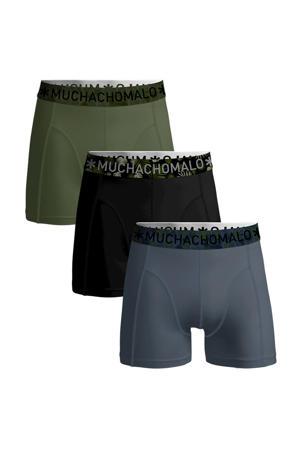 boxershort Solid (set van 3)
