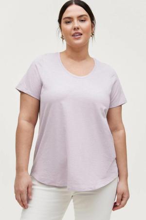 gemêleerde T-shirt KAT lila