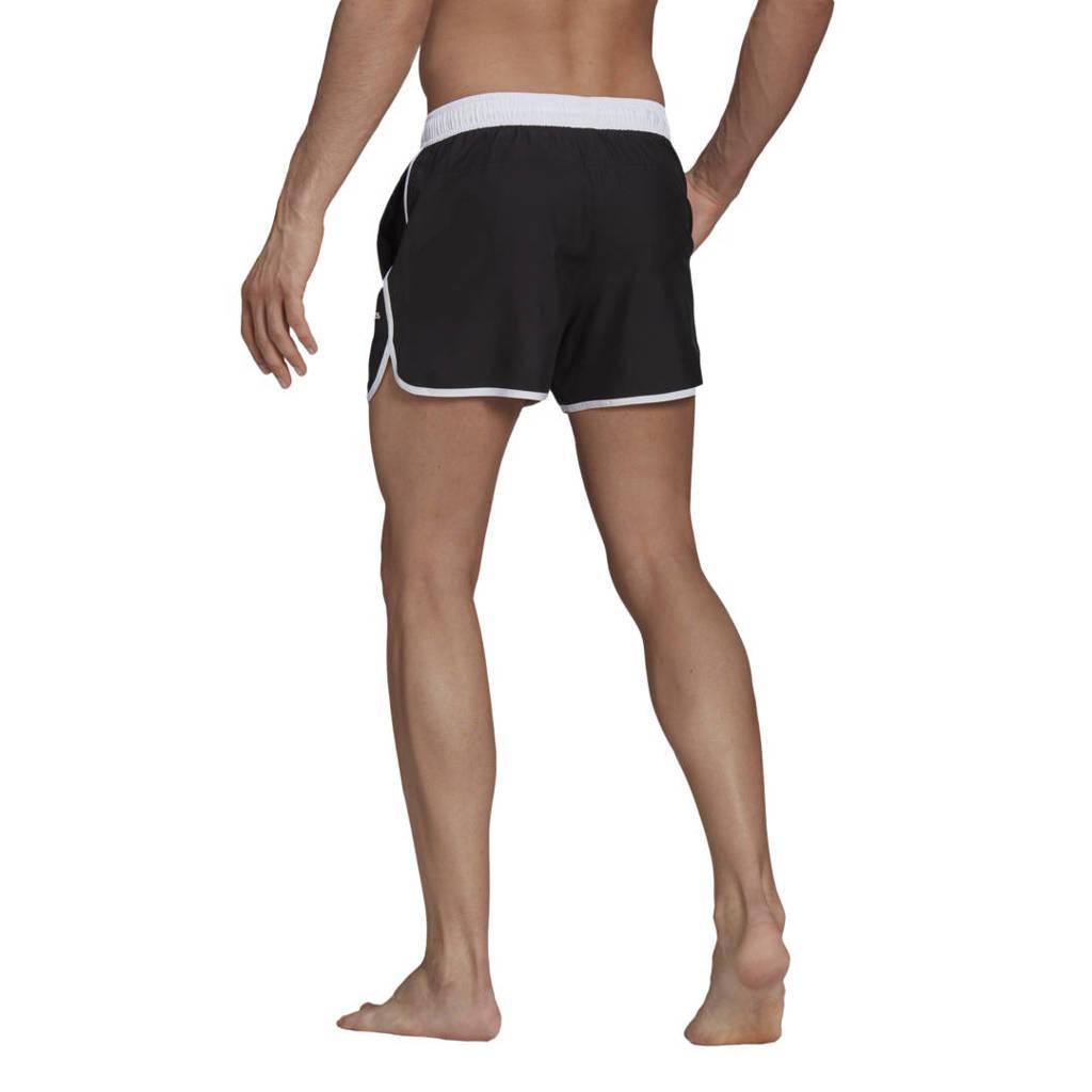 adidas Performance zwemshort zwart/wit, Zwart/wit