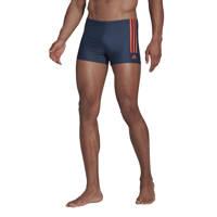 adidas Performance Infinitex zwemboxer donkerblauw/rood, Donkerblauw/rood