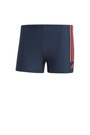Infinitex zwemboxer donkerblauw/rood