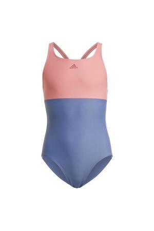 sportbadpak blauw/roze
