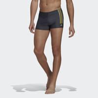 adidas Performance zwemboxer donkergrijs/geel, Donkergrijs/geel