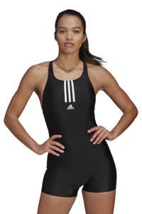 adidas Performance Infinitex sportbadpak met pijpjes zwart, Zwart