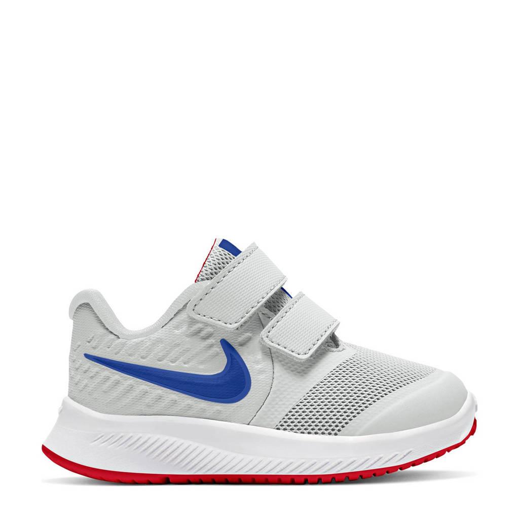 Nike Star Runner 2 sneakers grijs/blauw/rood, Grijs/blauw/rood