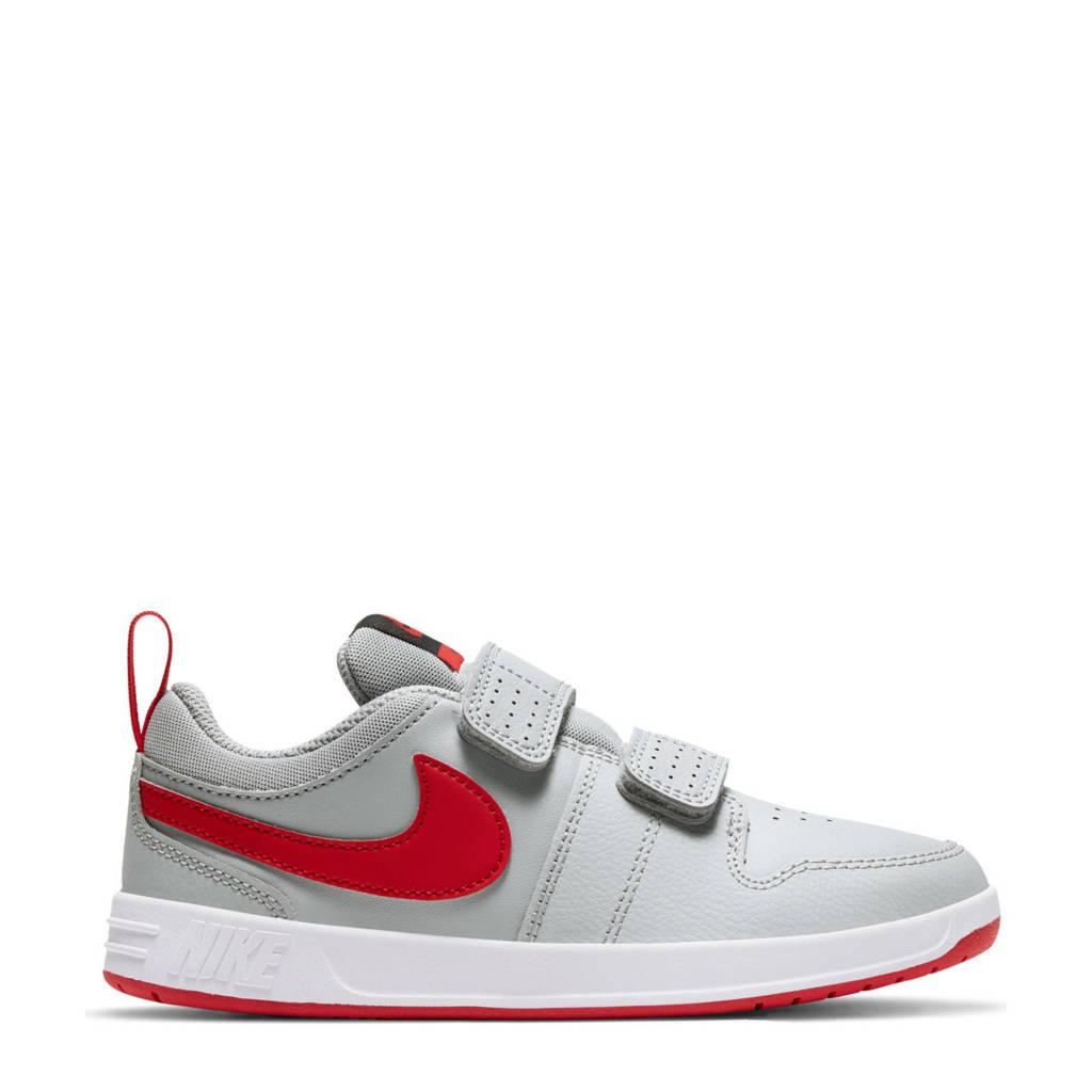 Nike Pico 5  sneakers grijs/rood, Grijs/rood