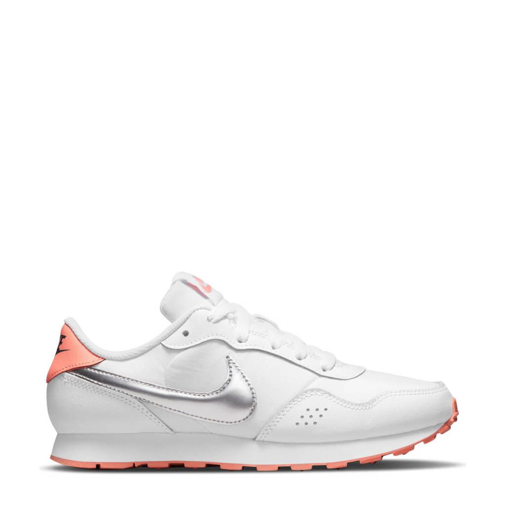 Nike MD Valiant  sneakers wit/zilver/oranje