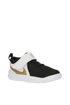 Team Hustle D 10 sneakers zwart/goud/wit