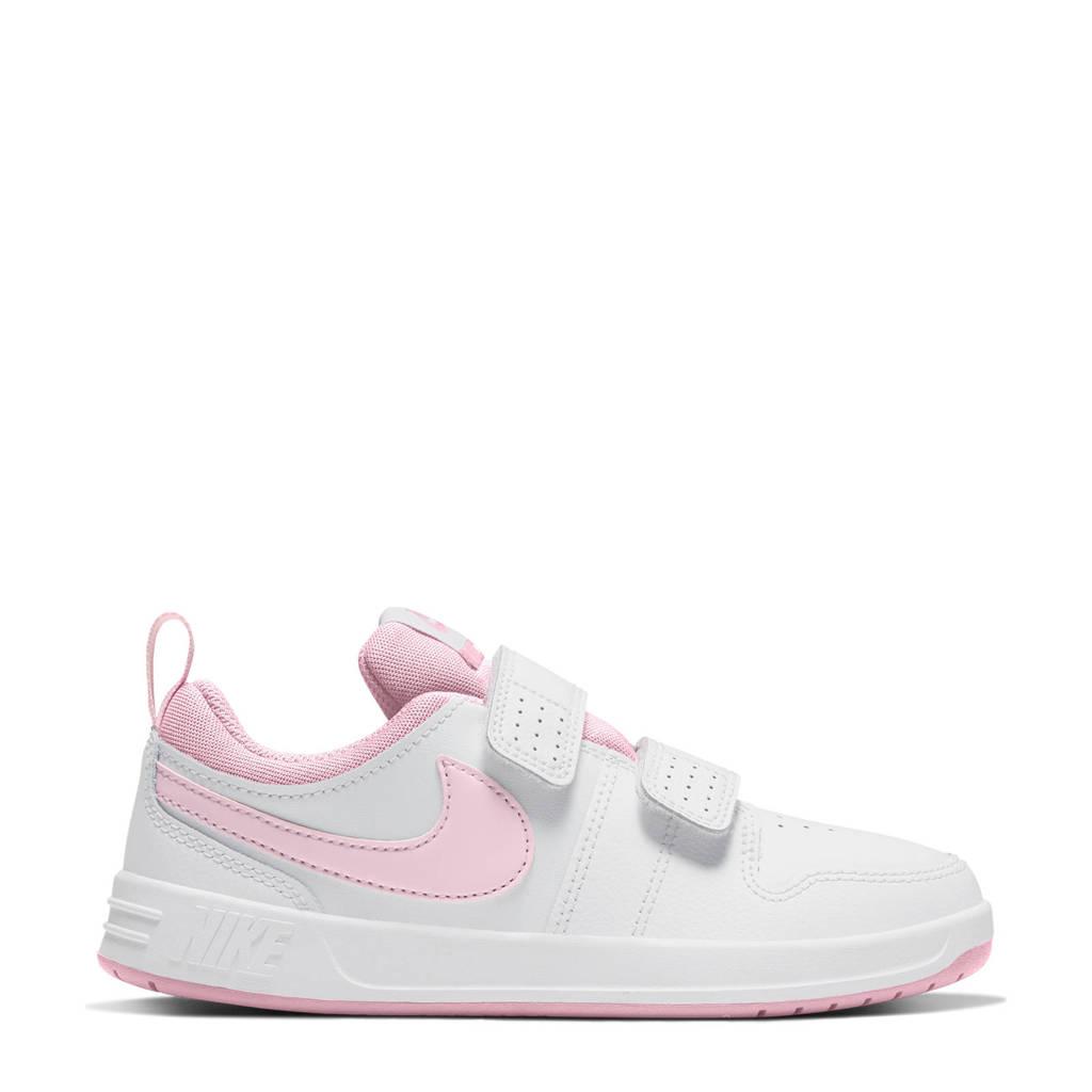 Nike Pico 5  sneakers wit/roze, Wit/roze