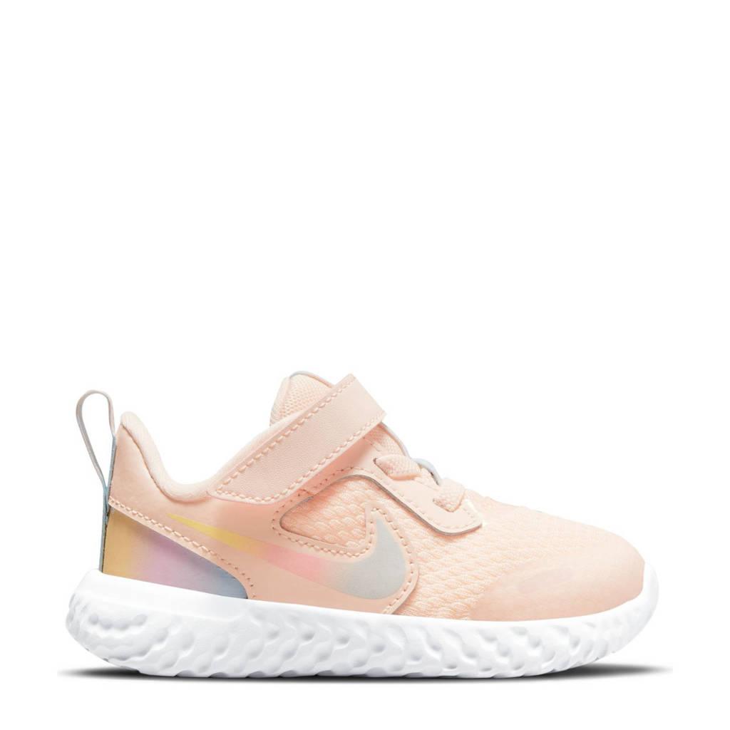 Nike Revolution 5 sneakers oranje/roze/grijs