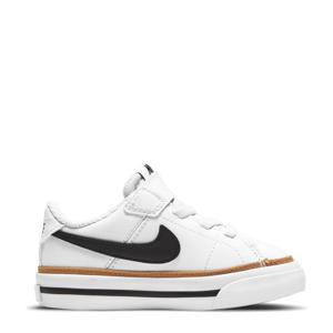 Court Legacy  sneakers wit/zwart/bruin