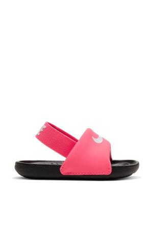 Kawa Slide  slippers roze/zwart/wit
