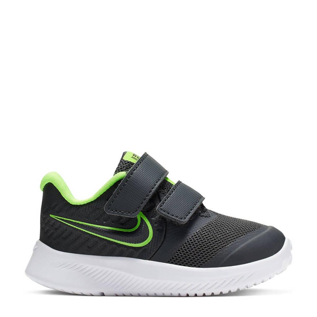 Nike Star Runner 2 sneakers antraciet/limegroen, Zwart/limegroen