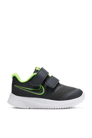 Star Runner 2 sneakers antraciet/limegroen
