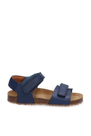 Seth Spain  leren sandalen blauw