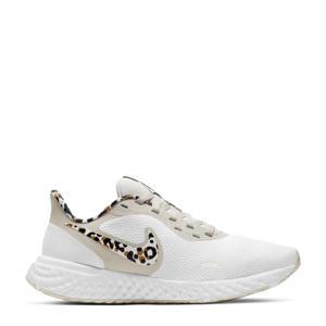 Revolution 5 PRM hardloopschoenen wit/beige/bruin
