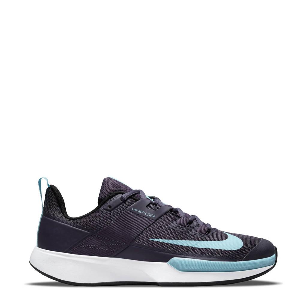 Nike Vapor Lite Clay tennisschoenen zwart/wit, Aubergine/wit/zwart
