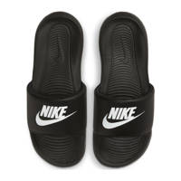 Nike Victori One Slide  badslippers zwart/wit, Zwart/wit