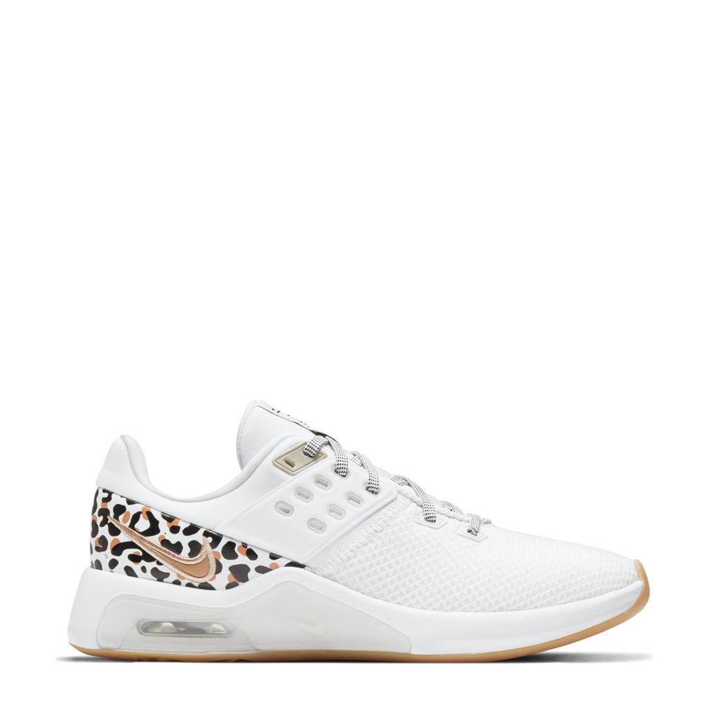 Nike Air Max Bella Tr 4 fitness schoenen wit/zwart/camel, Wit/zwart/camel