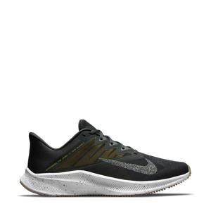 Quest  3 PRM hardloopschoenen zwart/grijs