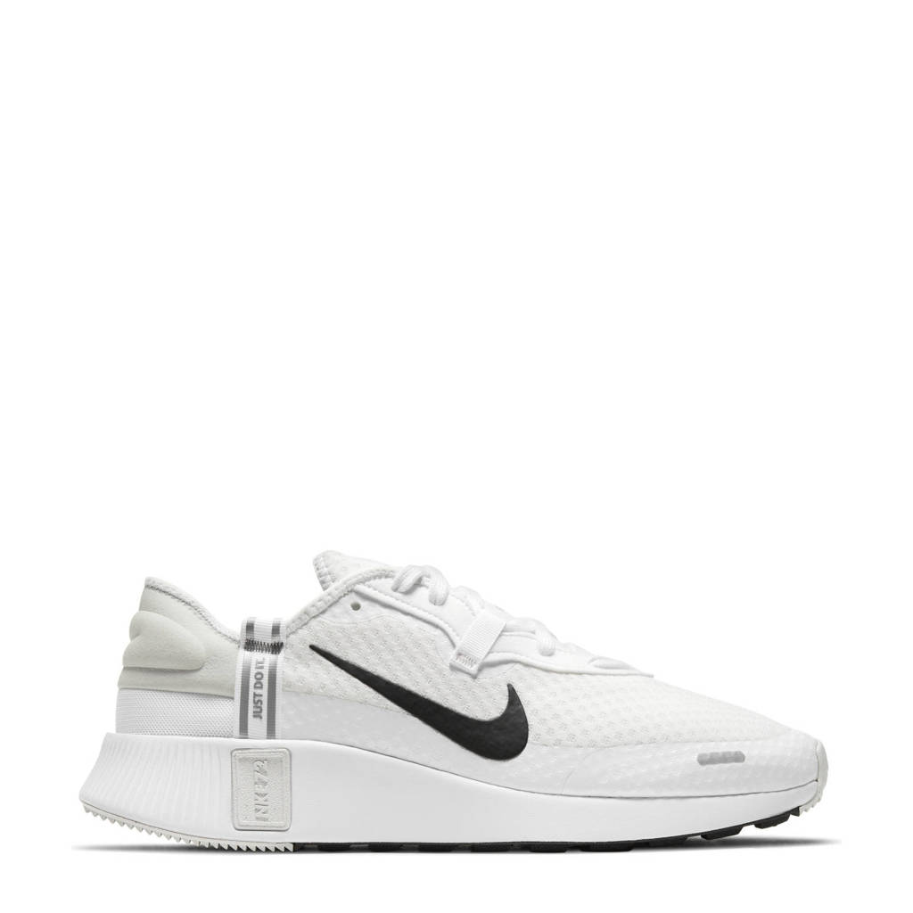 Nike Reposto  sneakers wit/zwart/zilver, Wit/Zwart/Zilver