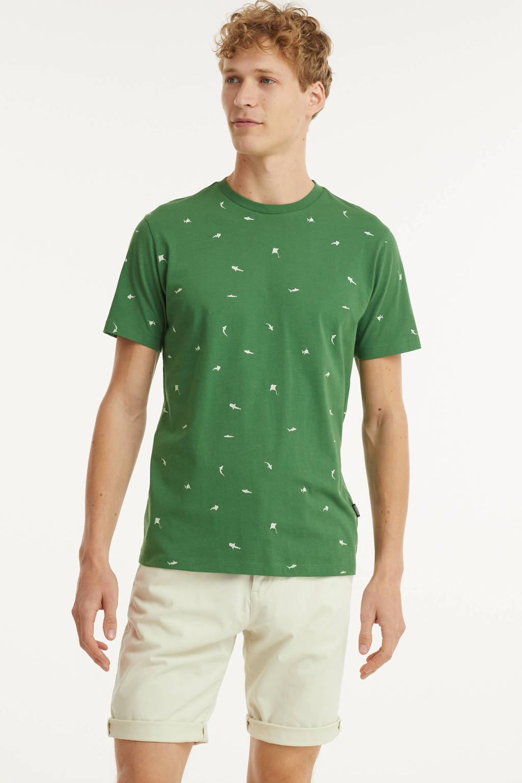 Kultivate T-shirt TS SHARKTANK van biologisch katoen vineyard greenr, Groen