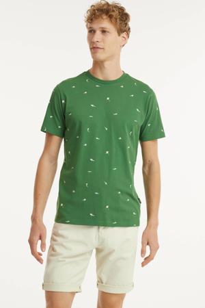 T-shirt TS SHARKTANK van biologisch katoen vineyard greenr