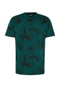 Kultivate T-shirt TS PLANTED van biologisch katoen reflective pond, Reflective Pond